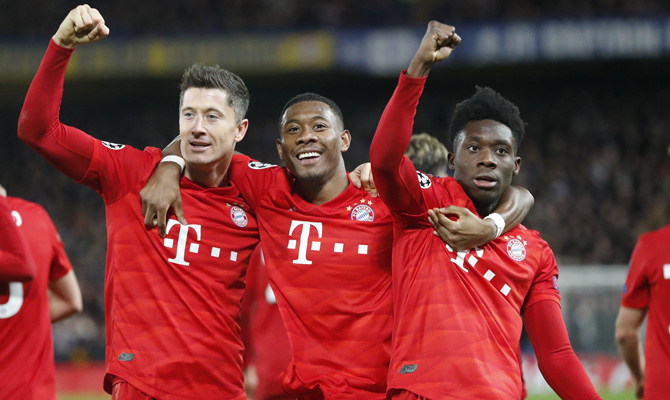 Bayern Múnich, Favoritos Champions League