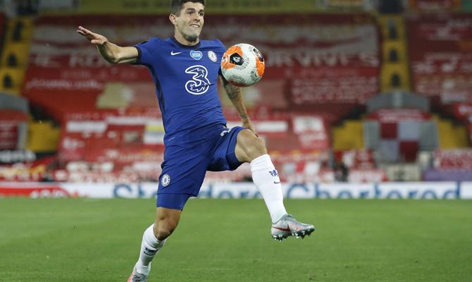 Christian Pulisic, Chelsea vs Wolverhampton