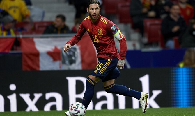 Sergio Ramos Alemania vs España