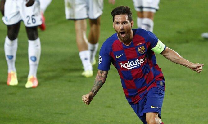 Messi Barcelona vs Bayern Múnich
