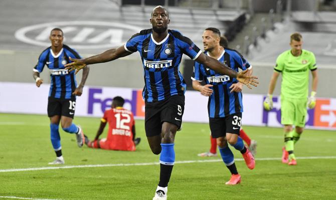Romelu Lukaku Inter vs Shakhtar Donetsk