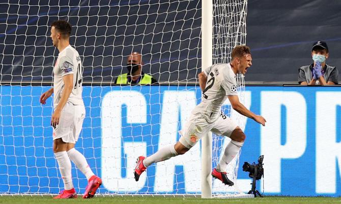 Joshua Kimmich Lyon vs Bayern Múnich