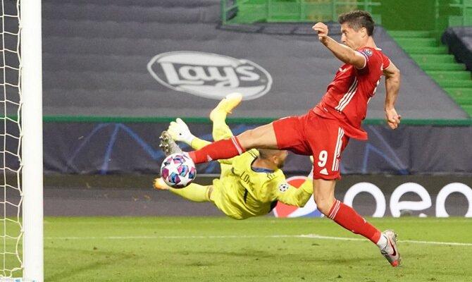 Robert Lewandowski PSG vs Bayern Múnich